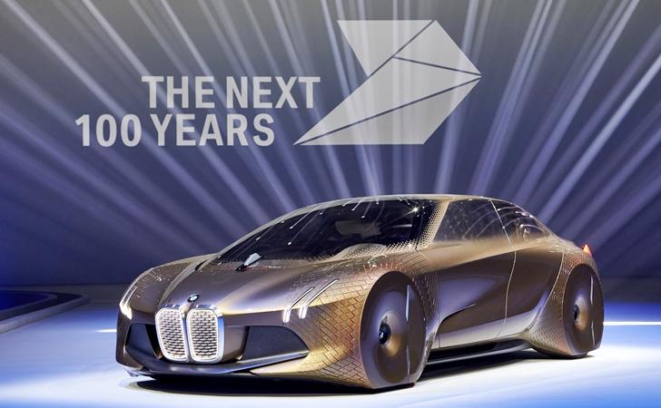 Nice 100 yıllara: BMW Vision Next 100