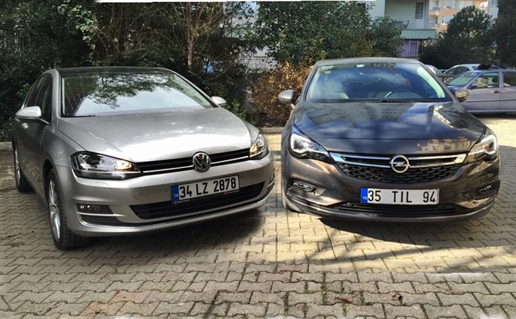 Opel Astra mı VW Golf mü?