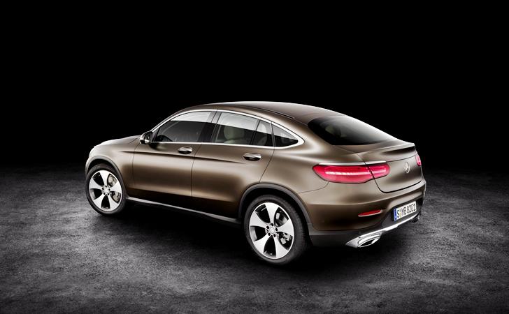 Ve işte karşınızda: Mercedes GLC Coupe