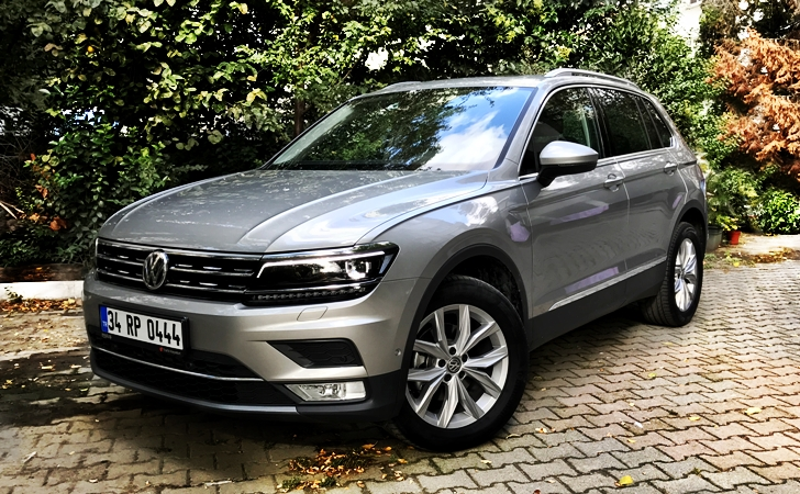 vw tiguan test