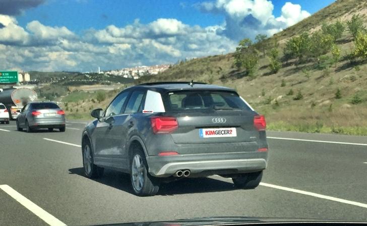 Audi Q2 Türkiye testinde