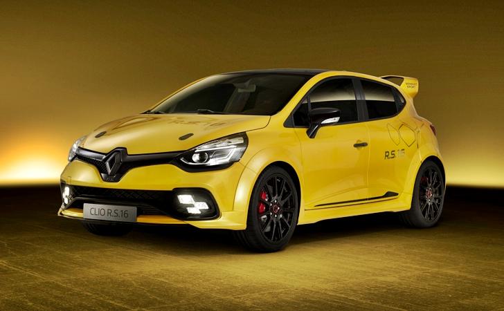 Renault'dan spora destek: Clio RS 16