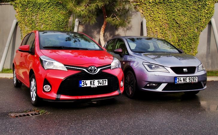 Seat Ibiza mı Toyota Yaris mi?