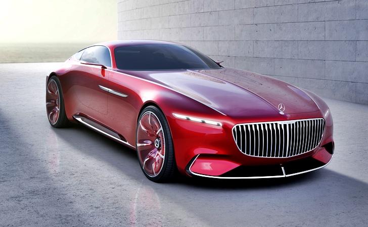 Geçmiş ve gelecek: Vision Mercedes-Maybach 6