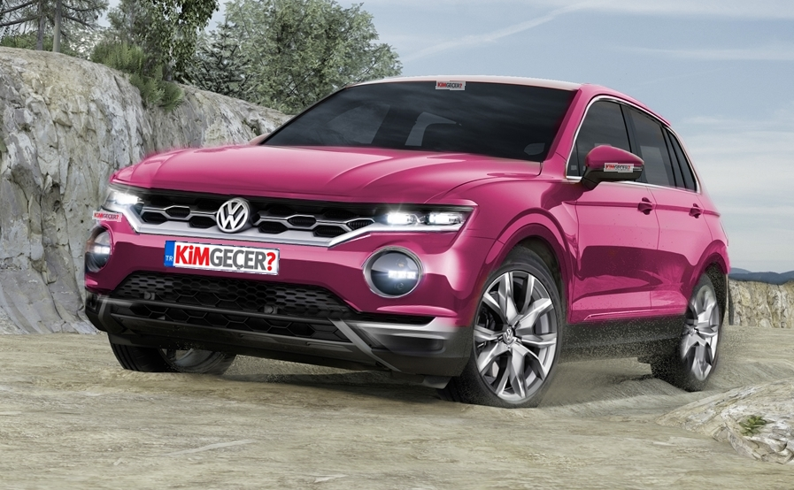 golf suv geliyor vw t roc k m ge er. Black Bedroom Furniture Sets. Home Design Ideas