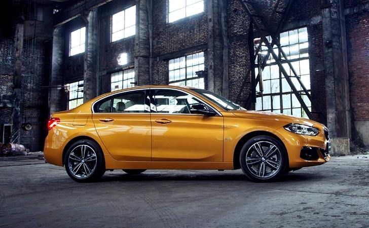 Ve işte Çinliler'in karşısında: BMW 1 Serisi Sedan