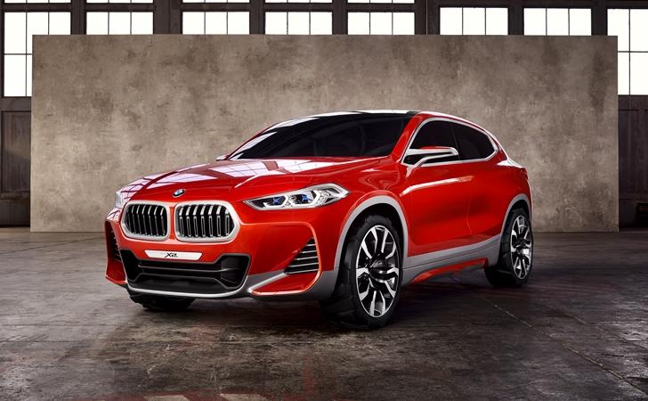 X'ler artıyor: BMW X2 Concept