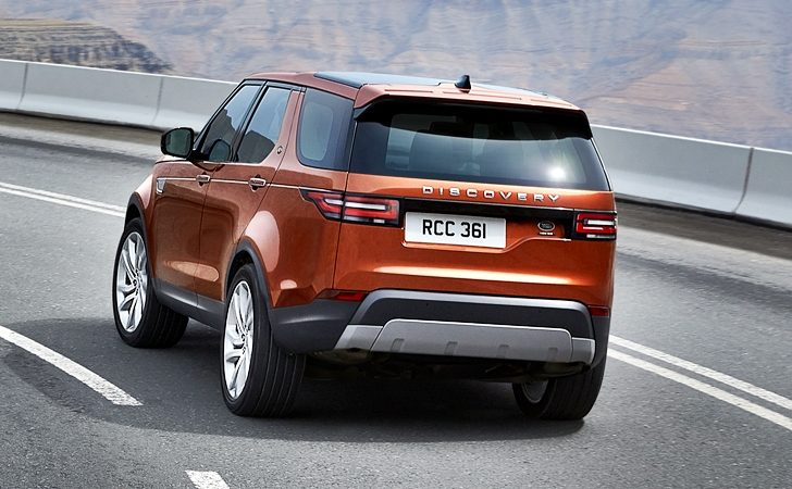 yeni kasa land rover discovery 2017