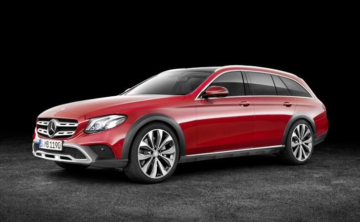Ve işte karşınızda: Mercedes E Serisi All-Terrain