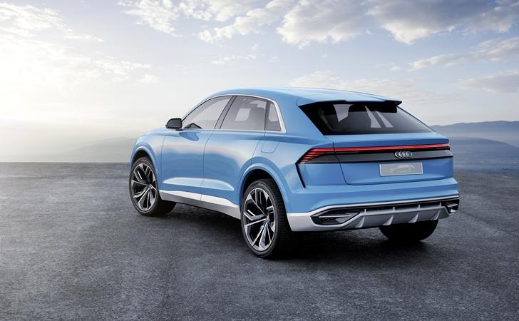 Ve işte karşınızda: Audi Q8 concept