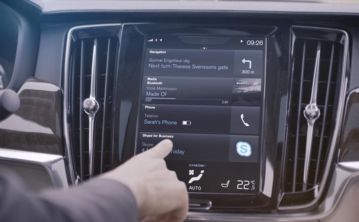 Müjdeler olsun, Volvolar'a Skype geliyor