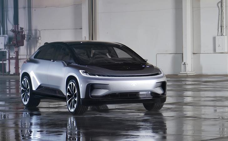 Tesla'ya rakip geldi: Faraday Future FF 91
