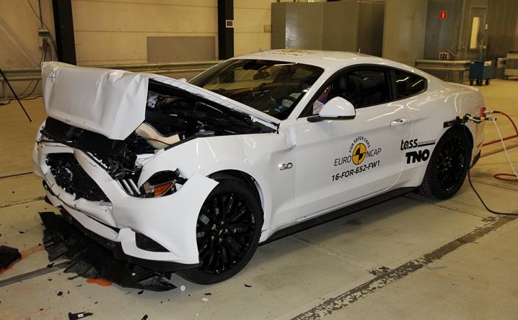 Euro NCAP: Ford Mustang 2 yıldızda kaldı