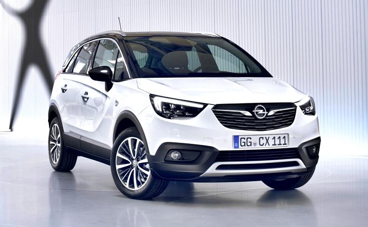 Ve işte karşınızda: Opel Crossland X