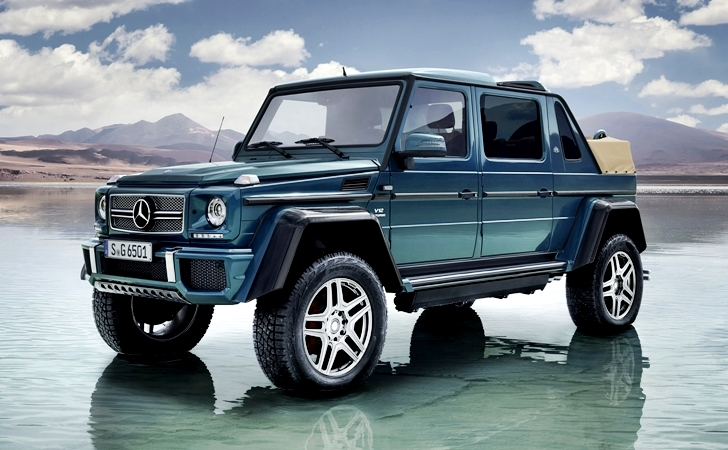 Havadar jubile: Mercedes-Maybach G650 Landaulet