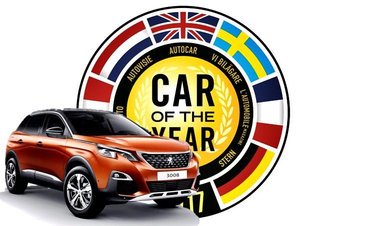 Yılın otomobili belli oldu: Peugeot 3008