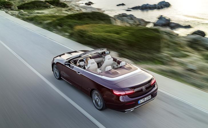 Yaza hazırlık: Mercedes E Serisi Cabriolet