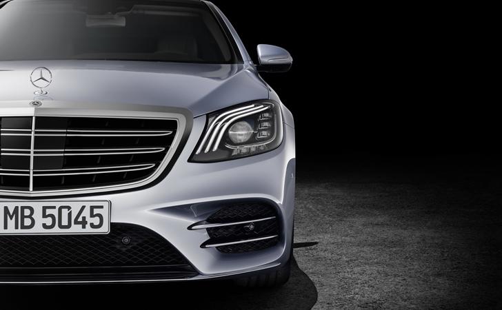 İleri ileri ileri: Makyajlı Mercedes S Serisi