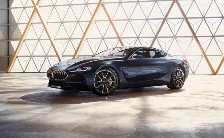 Geri dönüyor: BMW Concept 8 Series
