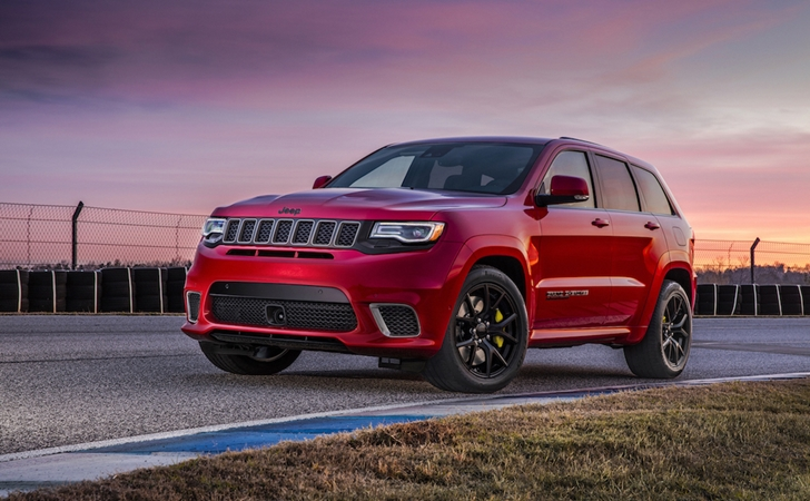 707 HP'lik dev: Jeep Grand Cherokee TrackHawk