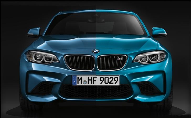 Farkı bulun (İpucu: Sağdaki makyajlı BMW M2)