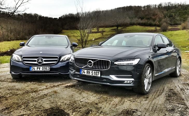 Mercedes E Serisi mi Volvo S90 mı?