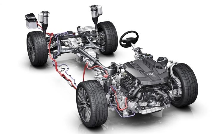 Çarpıcı lüks: Yeni nesil Audi A8