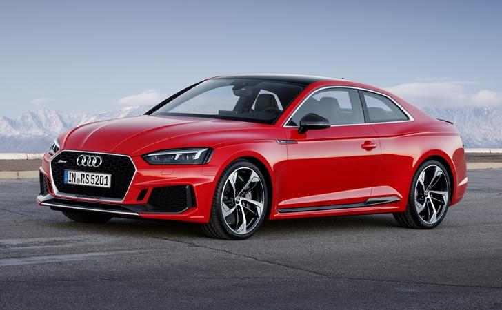 Ve işte karşınızda: Audi RS5 Coupe