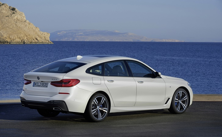 5 GT'nin halefi geldi: BMW 6 Serisi GT