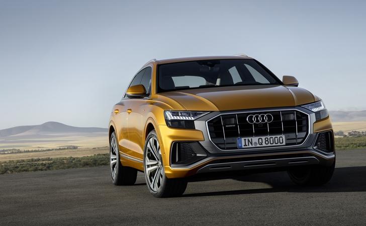 Ve işte karşınızda: Audi Q8