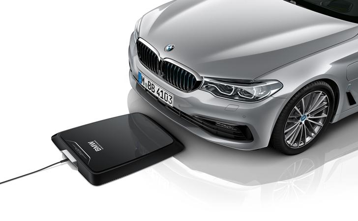 Elektriğe bir puan daha: BMW Kablosuz Şarj İstasyonu