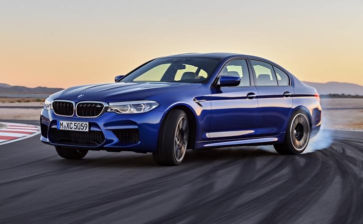 Ve işte karşınızda: BMW M5