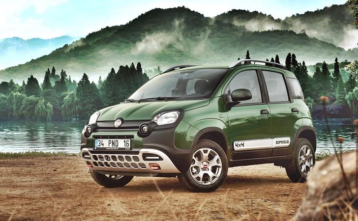 Satışa sunuldu: Fiat Panda Cross 4×4