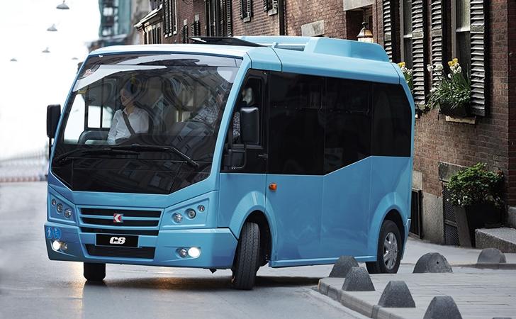 BMW motorlu toplu taşıma: Karsan Jest Electric