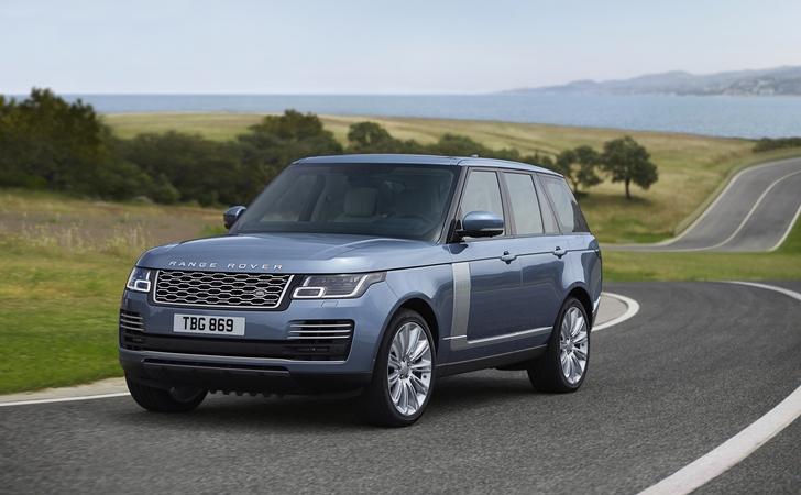 Makyajıyla karşınızda: LR Range Rover
