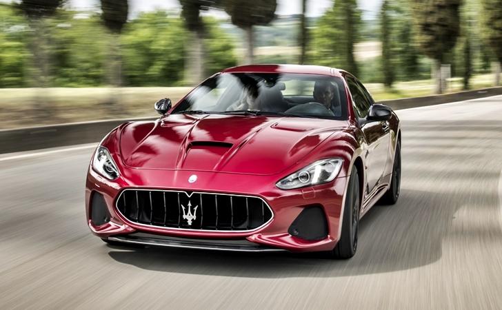 10. yaş sürprizi: Maserati GT makyajlandı