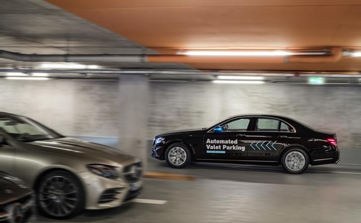 Mercedes ve Bosch'tan vale hizmeti, ama sürücüsüz