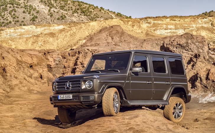 Ve işte karşınızda: Yeni nesil Mercedes G Serisi