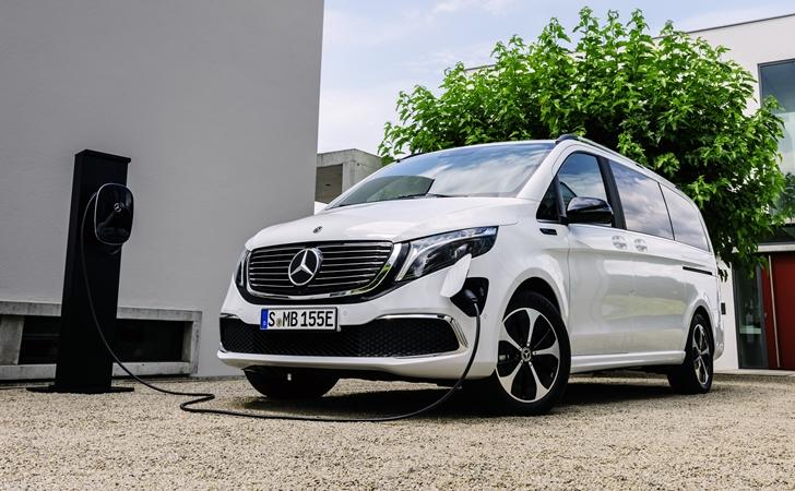 Büyük ve elektrikli: Mercedes EQV
