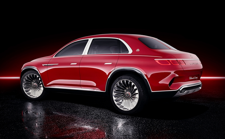 Umarız şakadır: Vision Mercedes-Maybach Ultimate Luxury