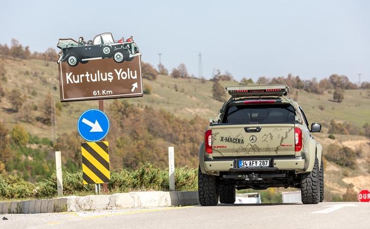 Köşeden köşeye Türkiye: Mercedes X Macera