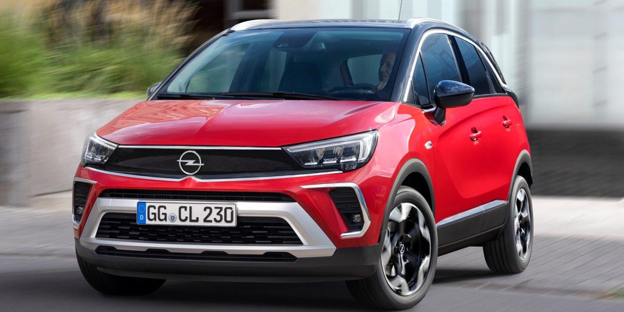 Satışa sunuldu: Makyajlı Opel Crossland