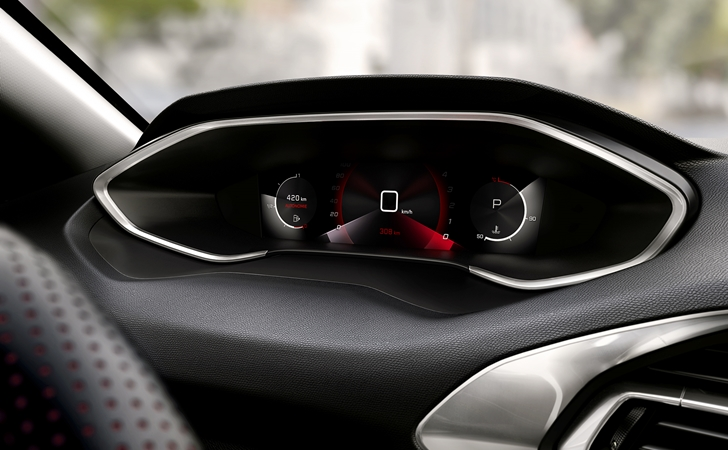 Dijital göstergeye kavuştu: Peugeot 308