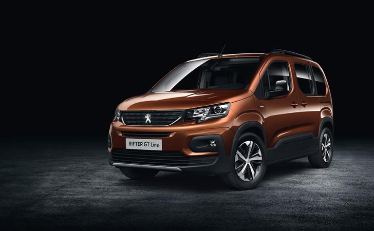 Peugeot partner rifter 2018