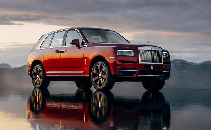 Ve işte karşınızda: Rolls-Royce Cullinan