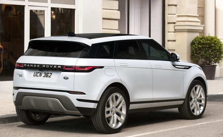 yeni kasa range rover evoque 2019