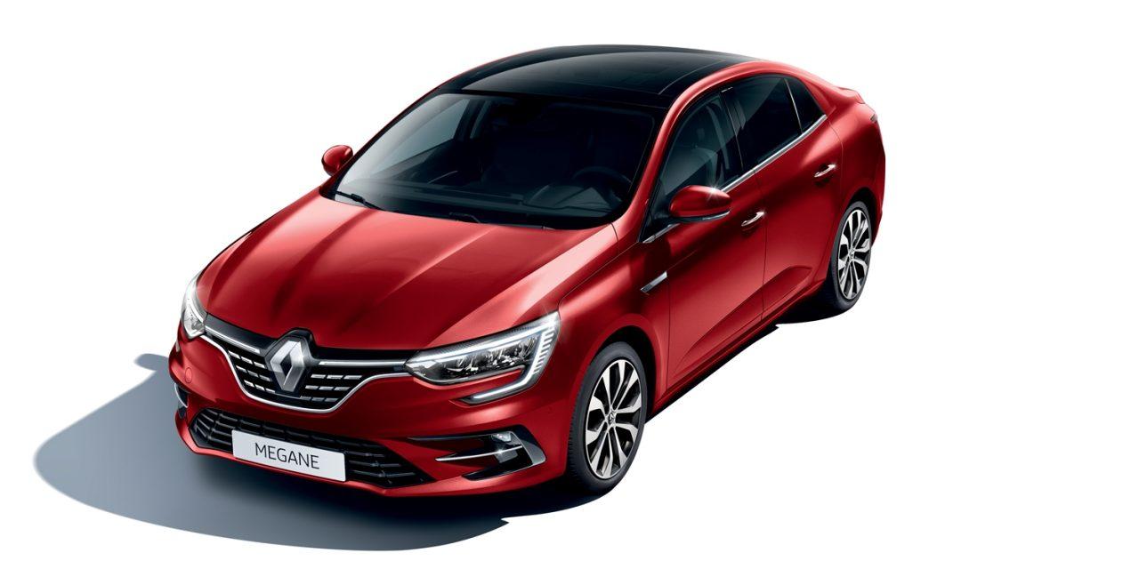 Makyajıyla karşınızda: Renault Megane Sedan