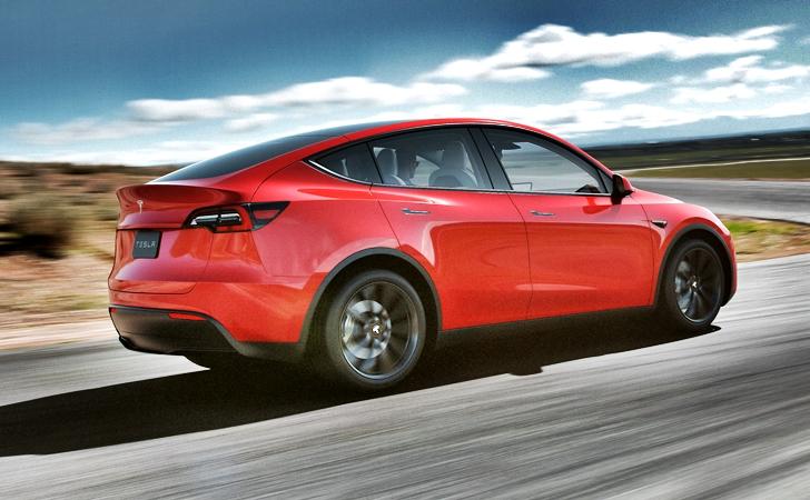 Ve işte karşınızda: Tesla Model Y