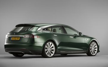 tesla model s shooting brake remetz car