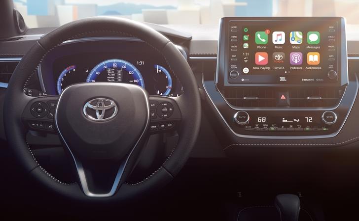 İç mekanı göründü: Toyota Auris